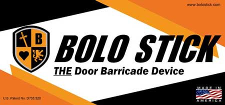 About Bolo Stick lockdown security device | Door Barricade