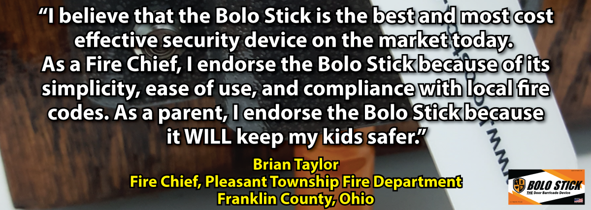 Reviews of Bolo Stick Door Barricade for Schools